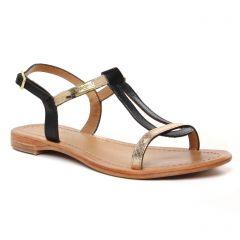 Chaussures femme été 2021 - sandales les tropéziennes noir léopard