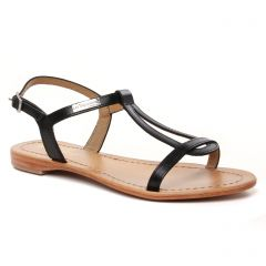 Chaussures femme été 2021 - nu-pieds et sandales les tropéziennes noir