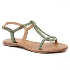 Chaussures femme été 2021 - sandales les tropéziennes vert