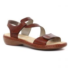 sandales marron: même style de chaussures en ligne pour femmes que les Rieker
