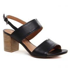 nu-pieds-talon noir: même style de chaussures en ligne pour femmes que les Marco Tozzi