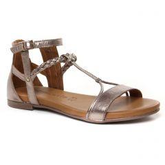 sandales bronze: même style de chaussures en ligne pour femmes que les Tamaris