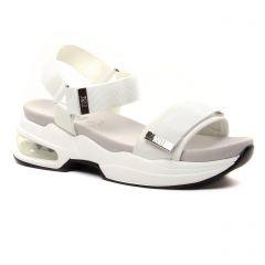 Chaussures femme été 2021 - sandales compensées Xti blanc