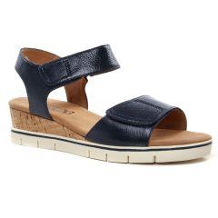 sandales-compensees bleu marine: même style de chaussures en ligne pour femmes que les Xti