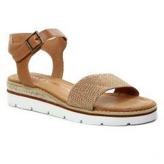 sandales-compensees marron: même style de chaussures en ligne pour femmes que les Émilie Karston