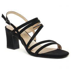 Chaussures femme été 2021 - sandales tamaris noir