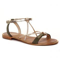 Chaussures femme été 2021 - sandales les tropéziennes vert kaki