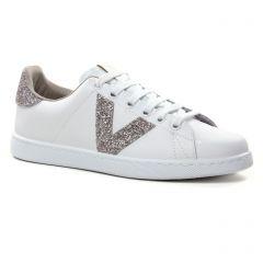 tennis blanc beige: même style de chaussures en ligne pour femmes que les Victoria