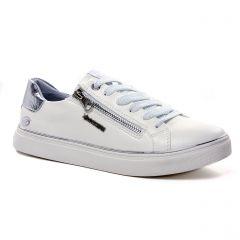 Chaussures femme été 2021 - tennis Dockers blanc