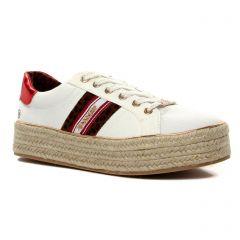tennis-plateforme blanc ecru: même style de chaussures en ligne pour femmes que les Gola