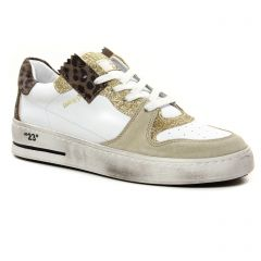 tennis blanc leopard: même style de chaussures en ligne pour femmes que les Tamaris