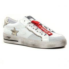 Chaussures femme été 2021 - tennis Semerdjian blanc multi