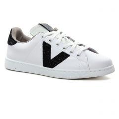 tennis blanc noir: même style de chaussures en ligne pour femmes que les Victoria