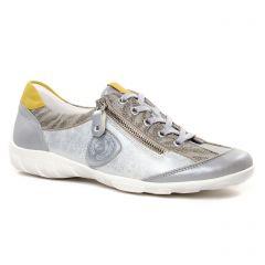 tennis gris argent: même style de chaussures en ligne pour femmes que les Remonte