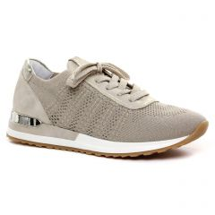 Chaussures femme été 2021 - tennis Remonte gris doré