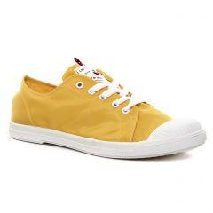 Chaussures femme été 2021 - tennis les tropéziennes jaune