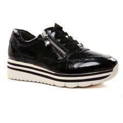 baskets-plateforme noir: même style de chaussures en ligne pour femmes que les Tamaris