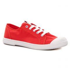 Chaussures femme été 2021 - tennis les tropéziennes rouge