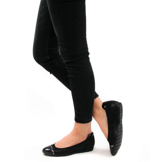 Chaussures femme été 2021 - baskets compensees tamaris noir
