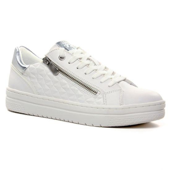 Tennis Et Baskets Mode Marco Tozzi 23718 White Comb, vue principale de la chaussure femme