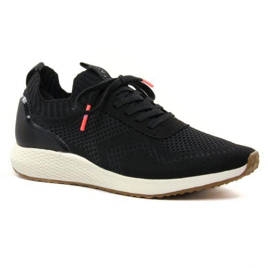 Tennis Et Baskets Mode Tamaris 23714 Black, vue principale de la chaussure femme