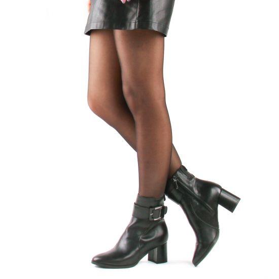 Chaussures femme été 2021 - boots tamaris noir
