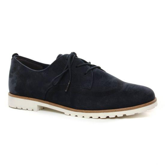Chaussures À Lacets Tamaris 23210 Navy, vue principale de la chaussure femme
