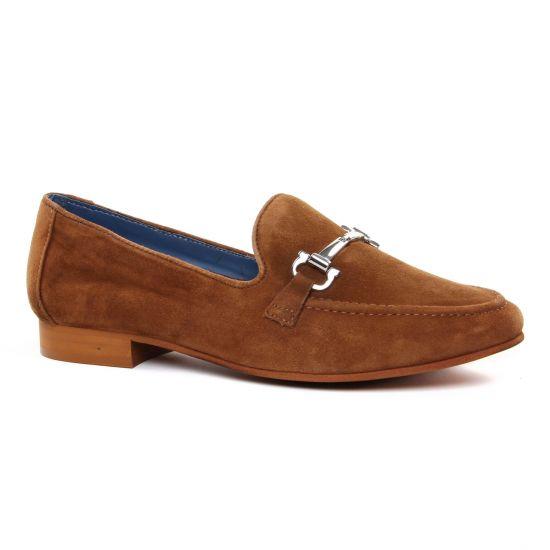 Mocassins Regarde Le Ciel Glady-06 Cognac, vue principale de la chaussure femme