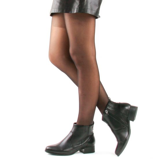 Chaussures femme été 2021 - low boots tamaris noir