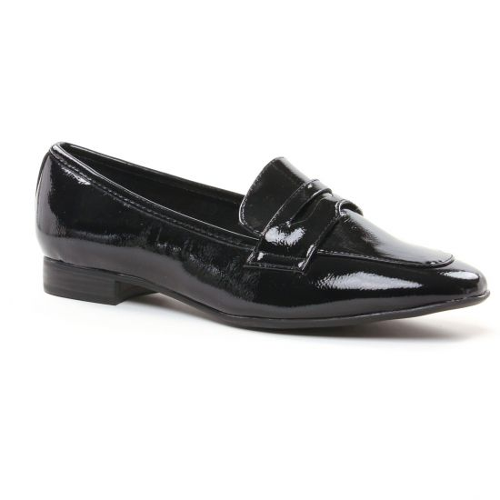 Mocassins Marco Tozzi 24201 Black Patent, vue principale de la chaussure femme