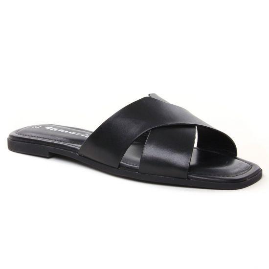 Nu Pieds Et Sandales Tamaris 27104 Black, vue principale de la chaussure femme