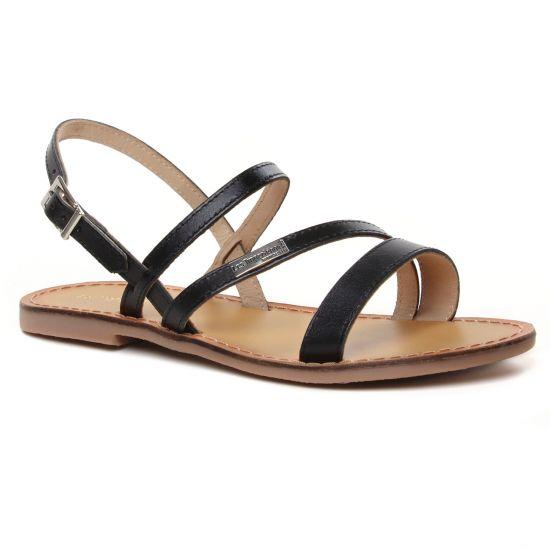 Nu Pieds Et Sandales Les Tropeziennes Baden Noir, vue principale de la chaussure femme