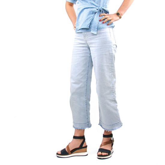 Chaussures femme été 2021 - sandales compensées tamaris bleu marine