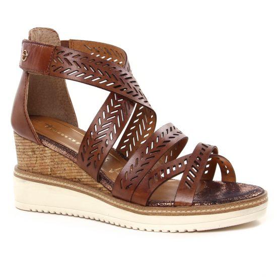 Nu Pieds Et Sandales Tamaris 28352 Cognac, vue principale de la chaussure femme