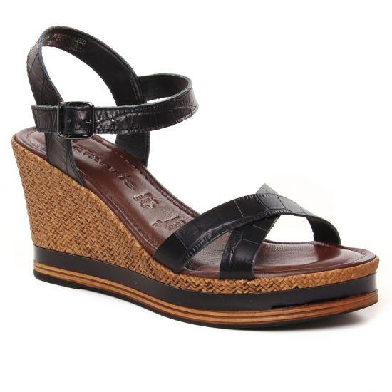 Nu Pieds Et Sandales Tamaris 28392 Black, vue principale de la chaussure femme