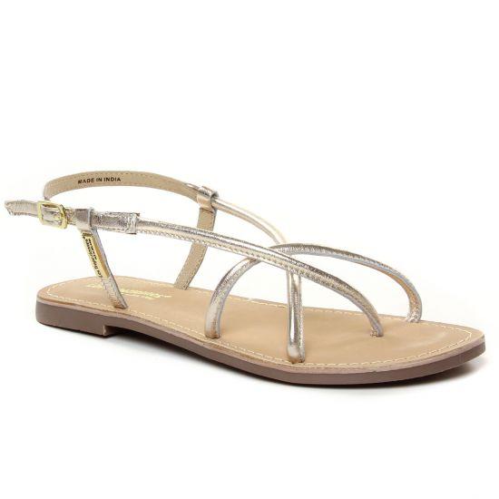 Nu Pieds Et Sandales Les Tropeziennes Dejo Or, vue principale de la chaussure femme