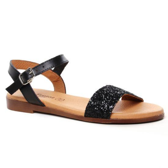 Nu Pieds Et Sandales Eva Frutos 9190 Negro Gl Multi, vue principale de la chaussure femme