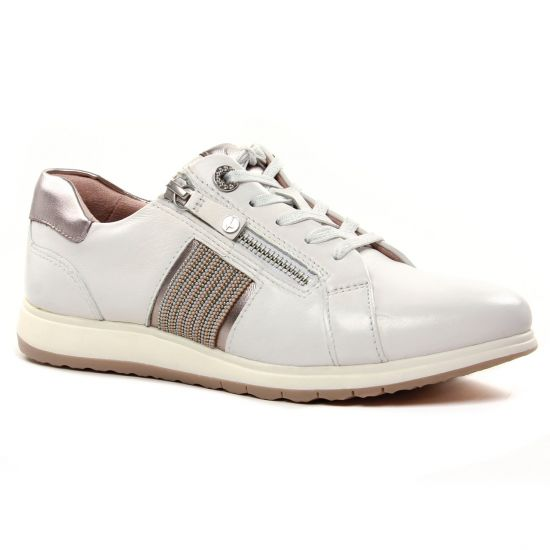Tennis Et Baskets Mode Tamaris 23755 White Leather, vue principale de la chaussure femme