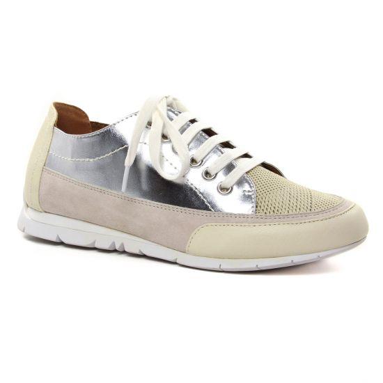 Tennis Et Baskets Mode Emilie Karston Camino Creme, vue principale de la chaussure femme