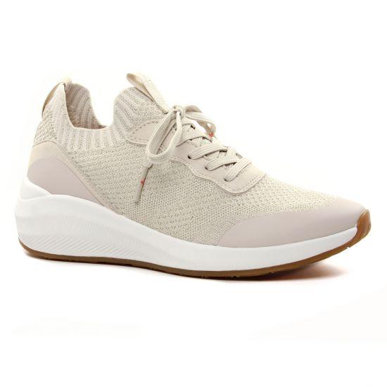 Tennis Et Baskets Mode Tamaris 23758 Sand Lt Gold, vue principale de la chaussure femme