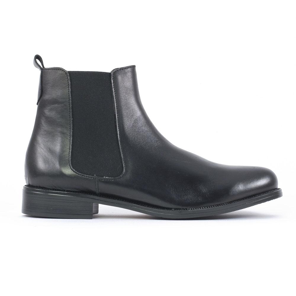 scarlatine co7051 noir | boot cavalières noir automne hiver chez