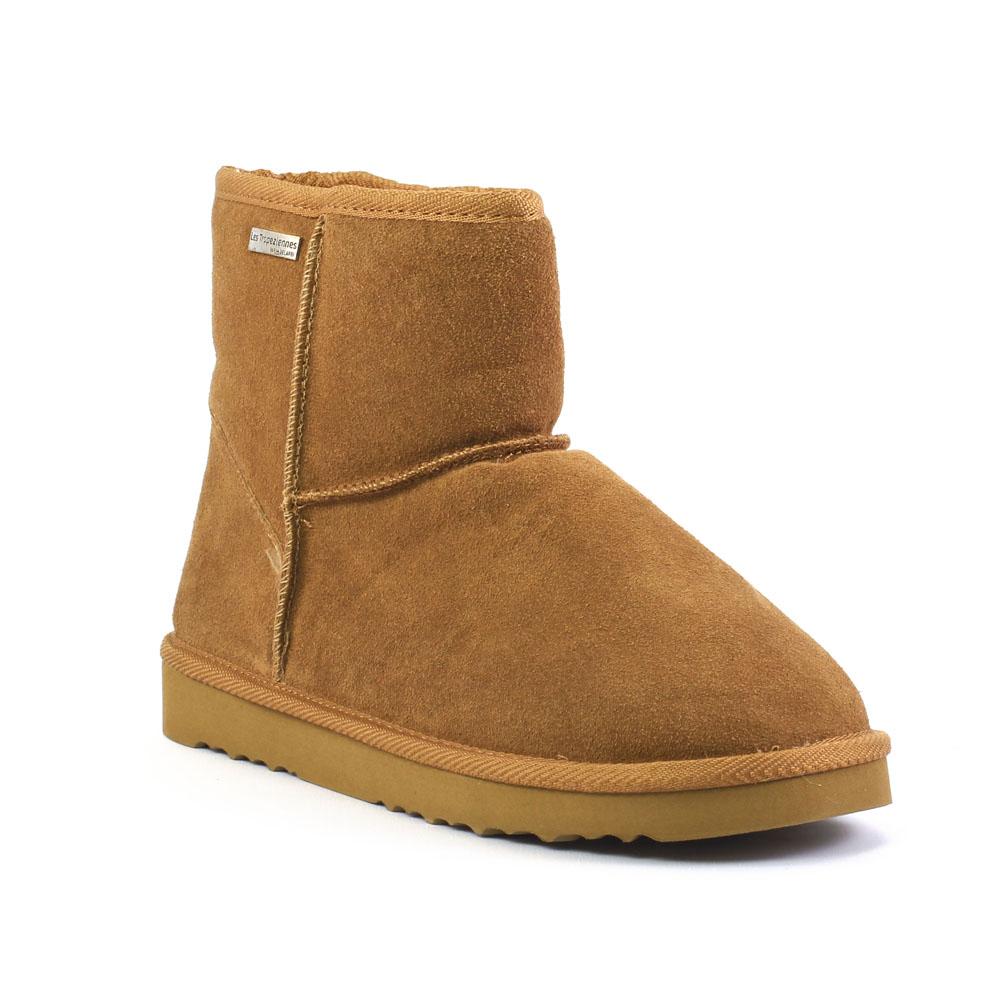 les tropeziennes flocon camel boot fourr es marron automne hiver chez trois par 3. Black Bedroom Furniture Sets. Home Design Ideas