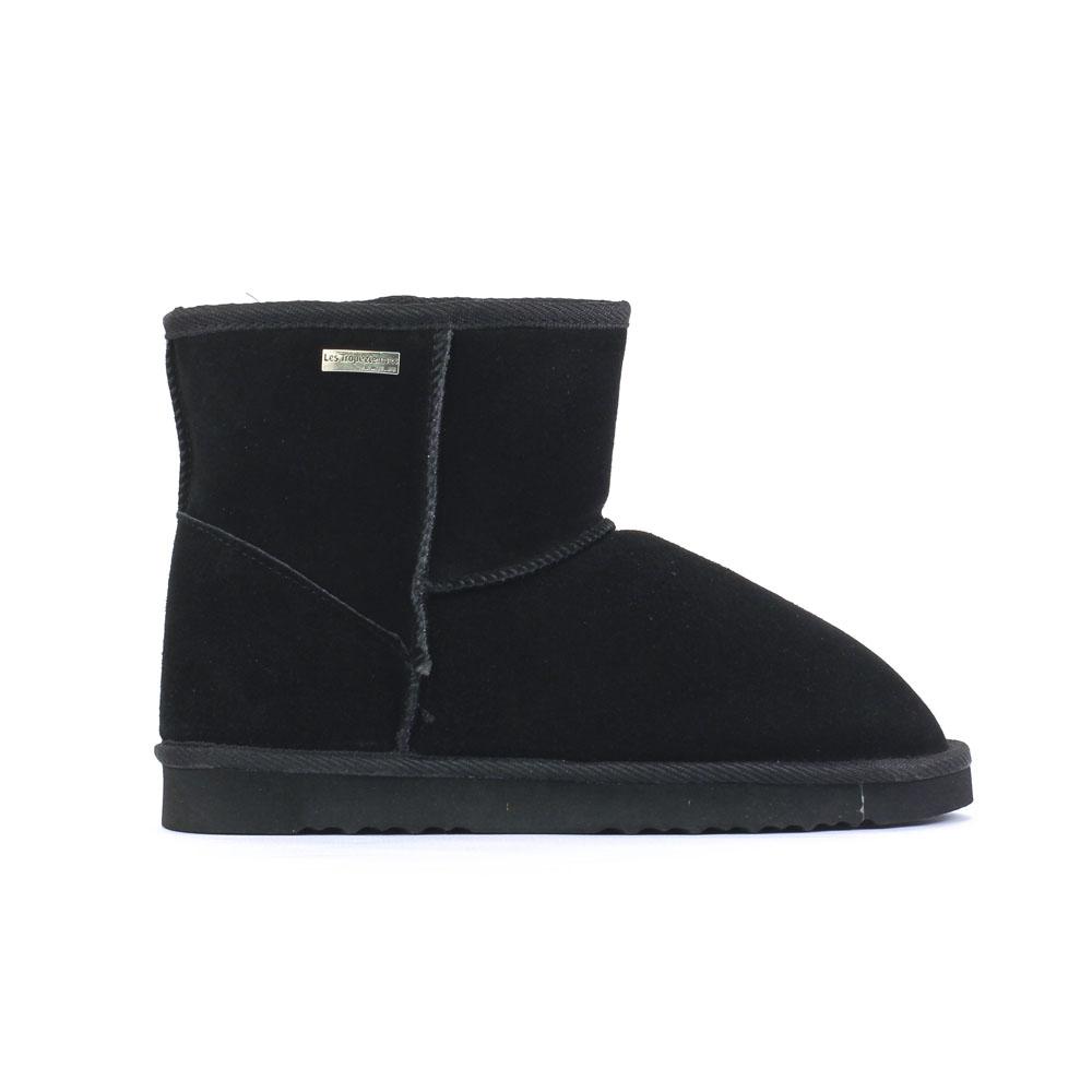 les tropeziennes flocon noir | boot fourrées noir automne hiver