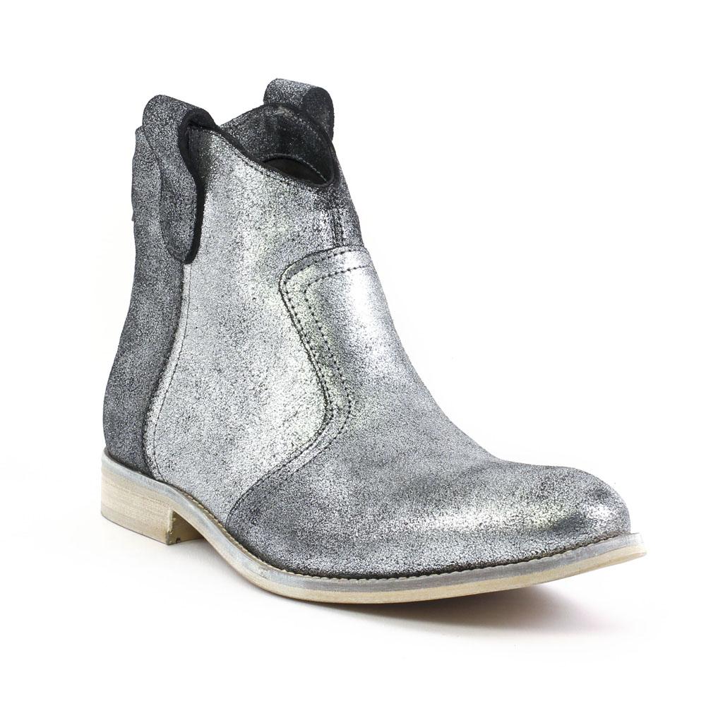amoroso 50024 argent | boots gris argent automne hiver chez trois