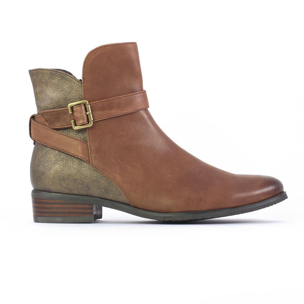 fugitive rupert marron bronze boots marron automne hiver chez trois par 3. Black Bedroom Furniture Sets. Home Design Ideas