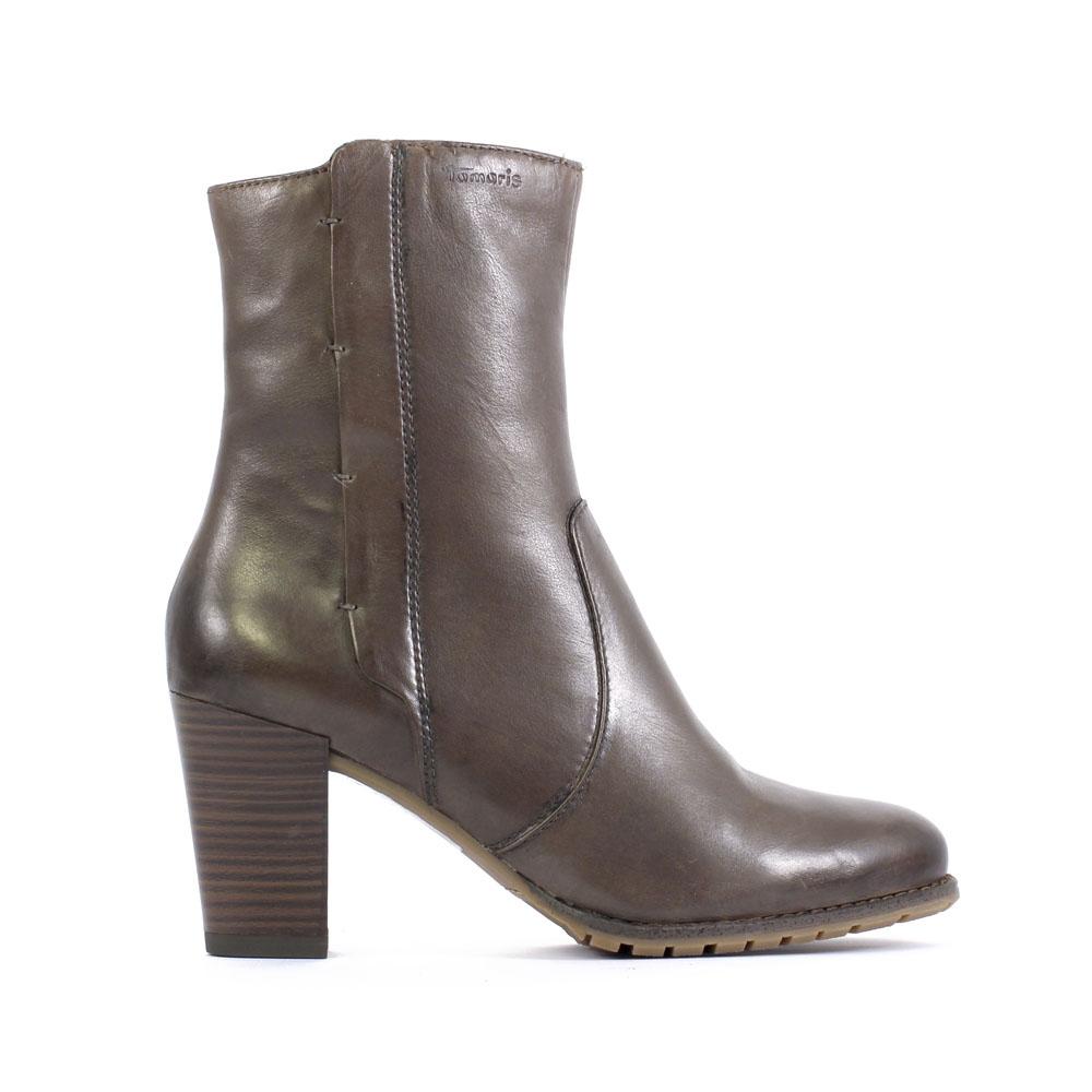 tamaris 25394 cigare boots marron automne hiver chez trois par 3. Black Bedroom Furniture Sets. Home Design Ideas