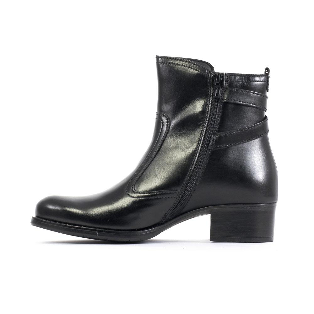 tamaris 25015 black | boots noir automne hiver chez trois par 3