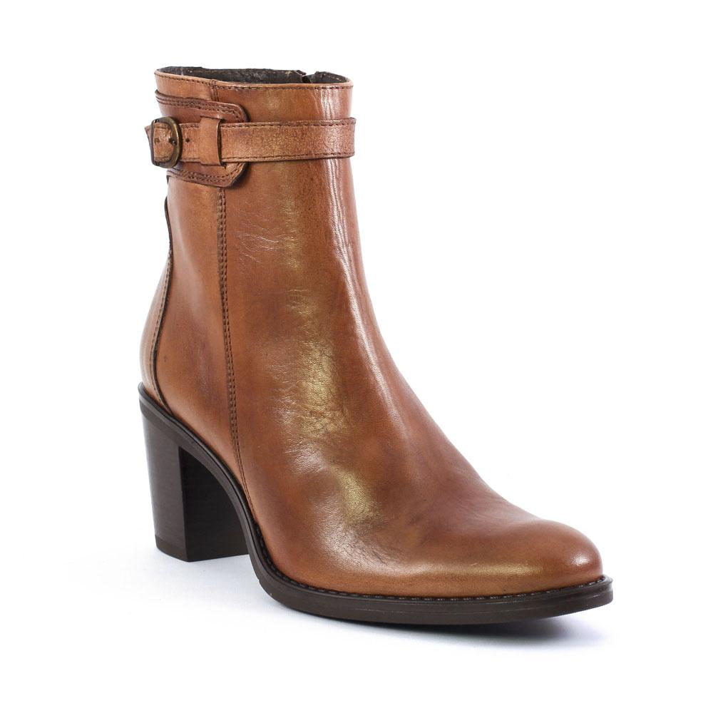 scarlatine svi 35183 caramel boot talon marron automne hiver chez trois par 3. Black Bedroom Furniture Sets. Home Design Ideas