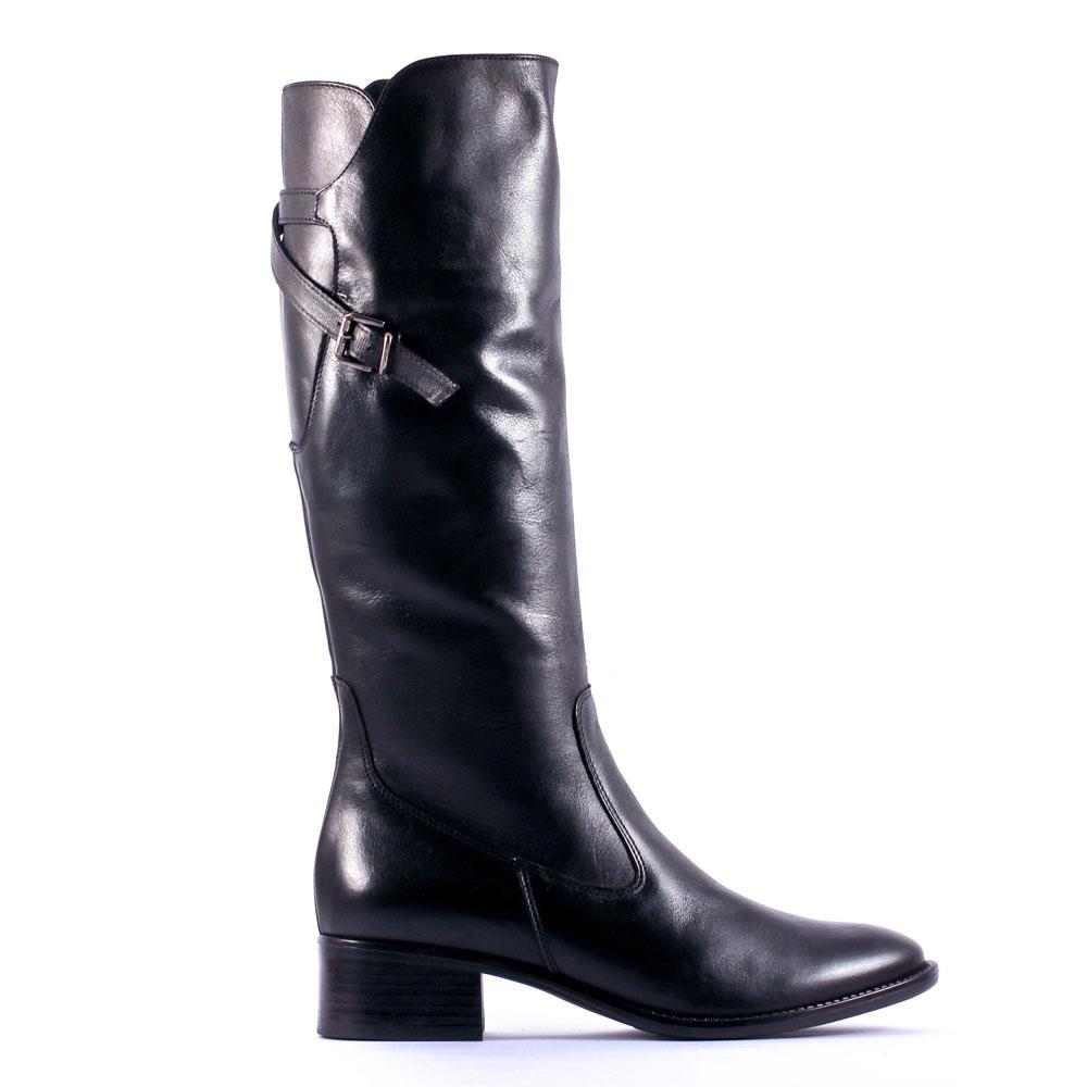 amoroso 69658 noir | botte cavalières noir automne hiver chez