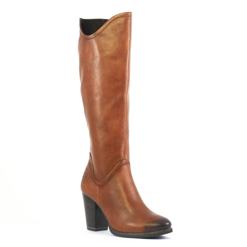 marco tozzi 25546 nut | bottes marron automne hiver chez trois par 3